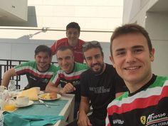 Fernando with friends