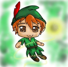 Peter pan again.. by *Foreveryoung8 on deviantART