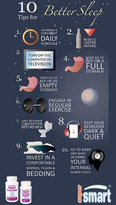 10 conseils simples pour mieux dormir la nuit avec @SuperSmart16