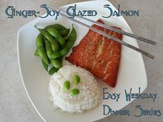 A Journey of O's and A's with Blood Type and Diet: Ginger-Soy Salmon