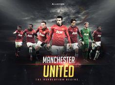 Manchester United - The Revolution Begins by #AlbertGFX #football #wallpaper