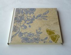 Quadratisch - Notizbuch Tagebuch - ein Designerstück von sabineklein bei DaWanda