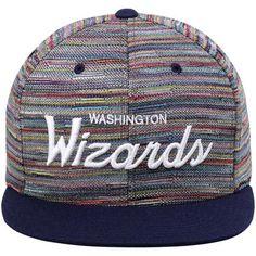 Men's Washington Wizards Mitchell & Ness Multi Space Knit Snapback Adjustable Hat
