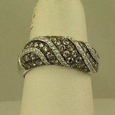 Ladies Chocolate Diamond Fashion Ring ART