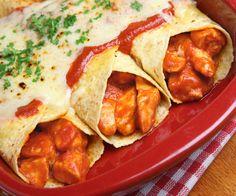 Frugal Chicken Enchiladas Recipe Frugal chicken enchiladas. A  Mein Blog: Alles rund um die Themen Genuss & Geschmack  Kochen Backen Braten Vorspeisen Hauptgerichte und Desserts # Hashtag