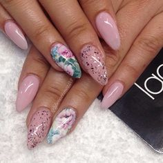 Pretty mani using our mommy dearest NCLA nailwraps done @laquenailbar ❤️ #ncla