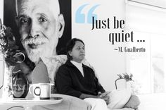 "You get this constant search for happiness in things outside while there is something so natural here ... Just be quiet ...Master Gualberto   ""Basta ficar quieto...""   Você fica nesta permanente procura pela felicidade em coisas do lado de fora enquanto há uma coisa tão natural presente... Basta ficar quieto... Mestre Gualberto    #ramanashramgualberto #mestregualberto #satsang #ramana #ramanamaharshi #awaken #guru #ramanashram #silence #enlightenment #buddha #awakening #whoami #zen…"