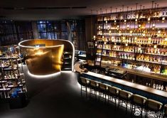 97 Best Lounge & Bar Design Images Ideas – My Pin's Lounge Design, Bar Lounge, Sportbar Design, Bar Interior Design, Restaurant Interior Design, Cafe Design, Design Ideas, Bar Counter Design, Back Bar Design
