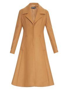 Wool and cashmere-blend felt coat   Rochas   MATCHESFASHION.COM UK