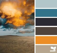 dark grey and blue color inspiration board | DS mood boards | fresh hues | color + inspiration