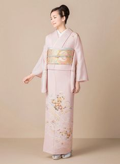 Kimono 訪問着 / Chiso 千總 / 慶長彩麗 帯:蒔絵鳳花