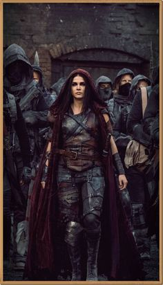 Marie Avgeropoulos as Octavia Blake in The 100 (CW Marie Avgeropoulos, The 100 Show, Bellarke, Halloween Tattoo, The Hundreds, The Witcher, Female Characters, Character Inspiration, Science Fiction