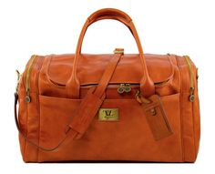 Tuscany Leather Voyager Honey Travel Bag TL141281 is made from fine quality leather which offers great strength and durability. There are back side zipped pockets to keep all important things handy and well organised. Features: Dimension – 52.5 x 29 x 27.5 cm Weight: 2.3 Kg Polished calf-skin leather Inner cotton lining Outer cargo zipped […]