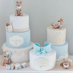 : @cakemesweet_nay #blue #blå #gutt #boy #cake #kake #delikat #sweet #teddy #sløyfe #dinbabyshower #detlilleekstra #babyshower #dåp #navnefest #fødsel #gravid #inspirasjon #inspiration #instalove