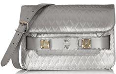 Proenza Schouler The PS11 Mini Classic Metallic Leather Shoulder Bag