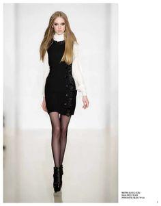 Maryna blouse, Dalia dress & Pippa bootie