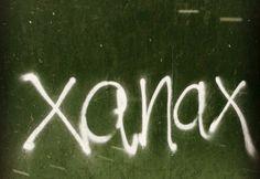 graffiti xanax art