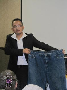 No more BIG pants for 25 year old Yang ... he lost 61 pounds in less than 6 months with Bios Life Slim and went from Size 44 pants to 34. Oh ... and he made $3700 in his business this month.  #weightloss 25 Years Old, Year Old, 6 Months, Lost, Weight Loss, Slim, Business, Pants, Trouser Pants