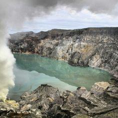 Ijen Crater, Bondowoso-East Java, Indonesia