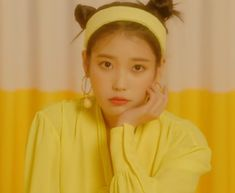 "IU's new song ""BBIBBI"" has made history on Melon! On October her agency Kakao M confirmed that ""BBIBBI"" surpassed 1 million unique listeners on Korea's largest music site Melon only 16 hours after its release. Wonder Girls Members, Songsong Couple, Kpop Profiles, Sulli, Iu Fashion, Kpop Aesthetic, Mellow Yellow, Korean Actresses, Kpop Groups"
