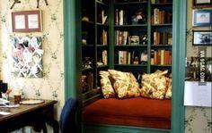 Book closet.