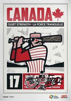 Canada WBC World Baseball Classic, Vintage Posters, Comic Books, Canada, Comics, Wbc, Cover, Sports, Poster Vintage