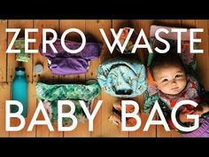 Zero Waste BABY BAG!! // Out & About with Frida - YouTube