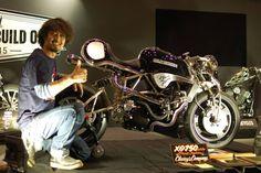 """XG750TURBO """"Street Fighter"""" - RocketGarage Cafe Racer"""
