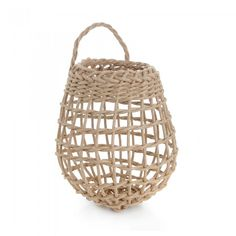 Basketry Botanica's Onion Basket $15 Need this for potatoes and onions, hang on pantry shelves
