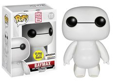 From the new Disney movie Big Hero it's robot Nurse Baymax! Funko has given Nurse Baymax the Glow-in-the-dark POP! Now you can bring the nursing-robot-turned-superhero Baymax home! Disney Pop, Film Disney, Disney Pixar, Dark Disney, Hiro Big Hero 6, The Big Hero, Big Hero 6 Baymax, Funk Pop, Funko Pop Marvel