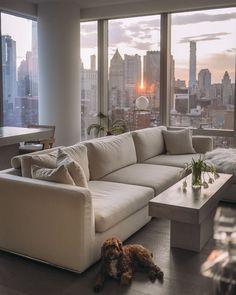 Apartment View, New York City Apartment, Dream Apartment, Apartment Interior, Apartment Living, Apartment Goals, Chicago Apartment, Dream Home Design, My Dream Home