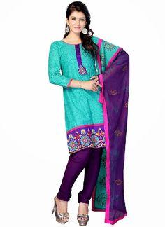 Indian Cotton Shalwar Kameez Collection 2014 for Girls