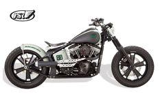 Harley Davidson Blackline Softail By Roland Sands    ♠ http://hellkustom.blogspot.com/ ♠