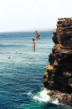 cliff jumping...is that me and Brianna in Barbados??? Would do it again in a skinny minute!