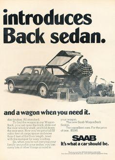 Saab 99 Wagonback advertisement