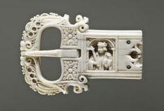 Belt buckle (boucle de ceinture) (Front): Saint Petersburg, The State Hermitage… Medieval Belt, Medieval Jewelry, Bone Crafts, Historical Artifacts, Art Nouveau Jewelry, Bone Carving, Art Object, Belt Buckles, Horns