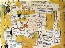 Techu-Anpu - Jean-Michel Basquiat