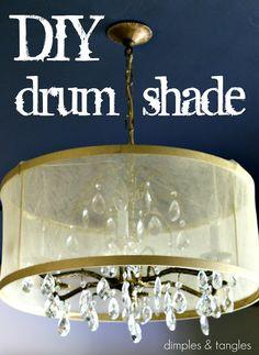 DIY Drum Shade {Tutorial}