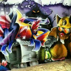 DuB the good stuff Street Art, How To Make