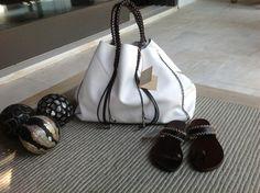 Callista crafts white and brown!