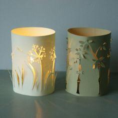 Jolies lanternes pour une lumière toute douce, et faciles à faire!