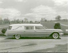 1961 Buick Electra 225 Flxible Ambulance (Factory Photo)
