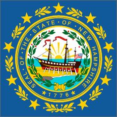 New Hampshire State Flag   Governor John Lynch
