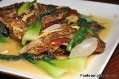 Pesang Isda is a Fish Recipe. It is also called fish in ginger stew. Watch our cooking video to learn how to cook this dish.