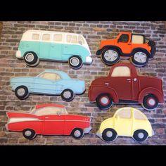 Car cookies for antique car show