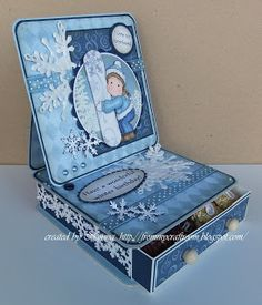 From My Craft Room: Winter Birthday #2