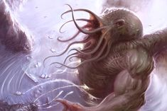 'Old Cults - Cthulhu' by Scott Purdy.