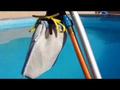 How to clean the dirt off the bottom of Intex pool - YouTube