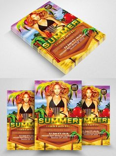 Fun Poster Templates Australia Day Party Flyersummer Flyer  Summer Flyer  Pinterest .
