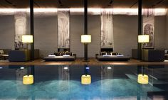 Tucked in the heart of the Swiss Alps, The Chedi hotel has transformed the clientele of sleepy Andermatt with its huge spa, hotel limousine service and suites. Andermatt, Casa Hotel, Hotel Pool, Hotel Spa, Indoor Pools, Hotel Romantique Paris, Hotel Berg, Chedi Hotel, Piscina Hotel